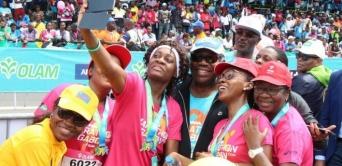 Marathon du Gabon : la Gabonaise pour la lutte contre le cancer