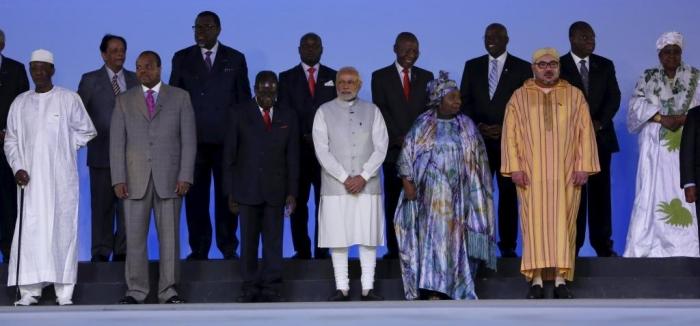 La romance Inde – Gabon célébrée lors du 3e Sommet du Forum Inde Afrique