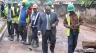 Ali Bongo Ondimba visite les chantiers de voirie de la capitale