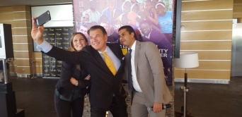 Visite du patron de Western Union au Gabon pour célébrer ses 20 ans en Afrique