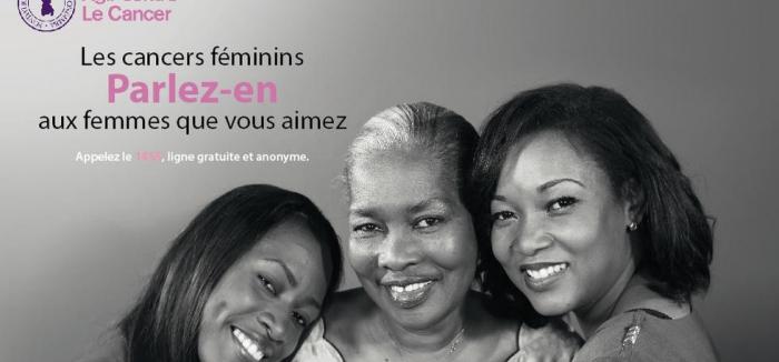 Campagne de sensibilisation sur les cancers féminins