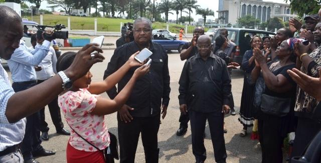 Succès mitigé pour le « lundi noir » à Libreville