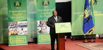 Ali Bongo lance le Programme égalité des chances