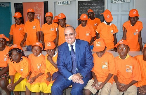 Gabon Telecom aux côtés des enfants démunis pour Noël