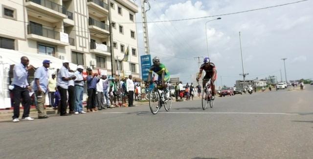 Cyclisme sur route : Léris Moukagni nouveau champion du Gabon