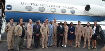 Environnement : des avions de la NASA survolent la forêt gabonaise