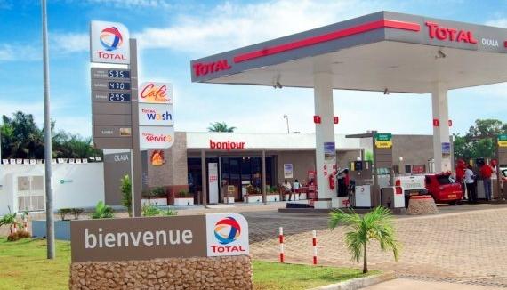 Total en baisse au Gabon