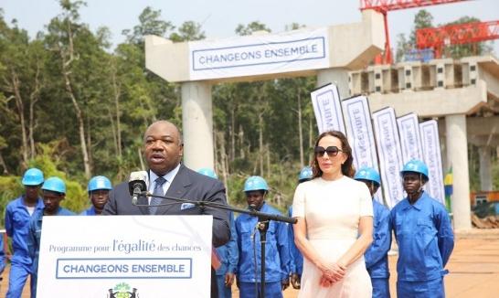 Ali Bongo candidat à un second mandat