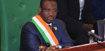 Guillaume Soro en visite au Gabon