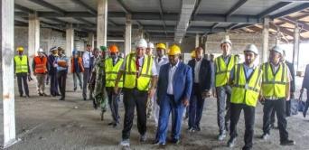 Nouvelle visite de chantier pour Ali Bongo