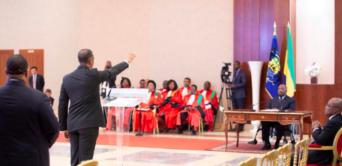 Ali Bongo de retour à Libreville pour la prestation de serment du gouvernement
